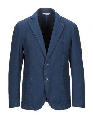Пиджак EXIGO. Цвет: синий