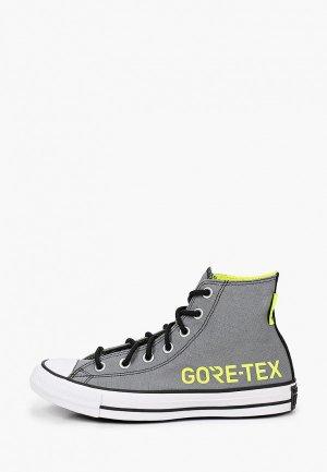 Кеды Converse Chuck Taylor Gore Tex - Fuji Construction. Цвет: серый