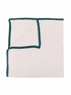 Трикотажный платок с контрастной окантовкой Siola. Цвет: нейтральные цвета