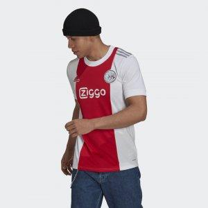 Домашняя игровая футболка Аякс Амстердам 21/22 Performance adidas. Цвет: красный