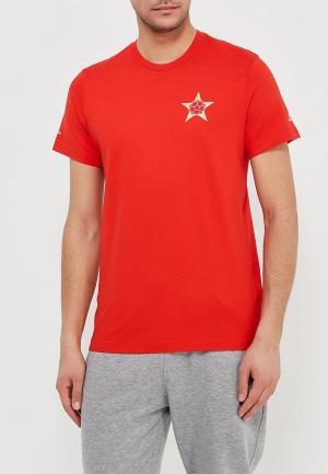 Футболка adidas Host Russia. Цвет: красный