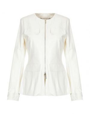 Куртка MANILA GRACE. Цвет: слоновая кость
