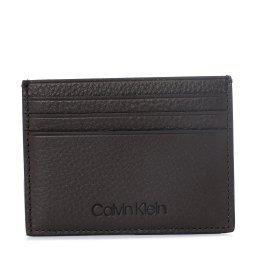 Холдер д/кредитных карт K50K505707 темно-коричневый CALVIN KLEIN
