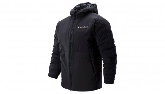 Куртки SPORT STYLE HEATDOWN S JACKET New Balance. Цвет: черный