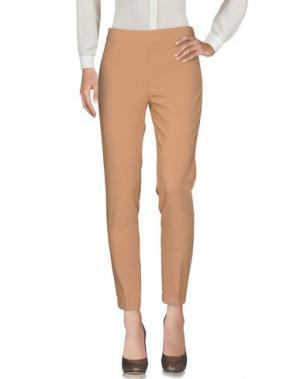 Повседневные брюки CANNELLA. Цвет: верблюжий