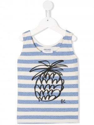 Pineapple tank top Bobo Choses. Цвет: синий