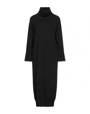 Длинное платье ANNECLAIRE. Цвет: черный