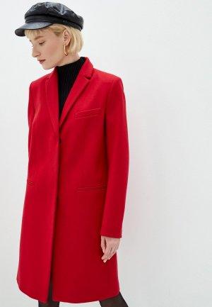 Пальто French Connection. Цвет: красный