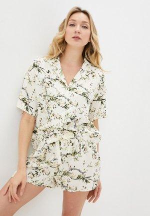 Блуза Infinity Lingerie. Цвет: бежевый