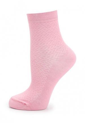 Носки Conte-kids CLASS. Цвет: розовый