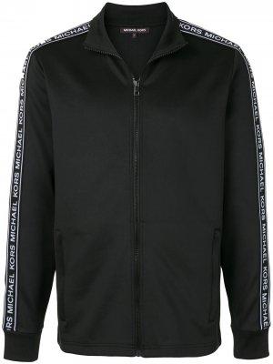 Спортивная куртка с логотипом Michael Kors. Цвет: черный