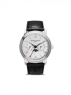 Наручные часы Classics Business Timer 40 мм Frédérique Constant. Цвет: серебристый