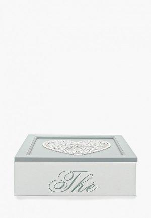 Шкатулка для украшений Русские подарки. Цвет: серый