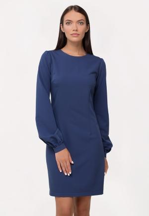 Платье AnnaPavla. Цвет: синий