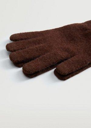 Сенсорные перчатки из трикотажа - Touch Mango. Цвет: золотисто-оранжевый