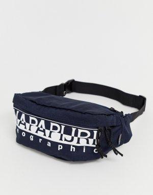 Темно-синяя сумка-кошелек на пояс -Темно-синий Napapijri