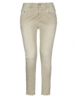 Повседневные брюки MELTIN POT. Цвет: бежевый