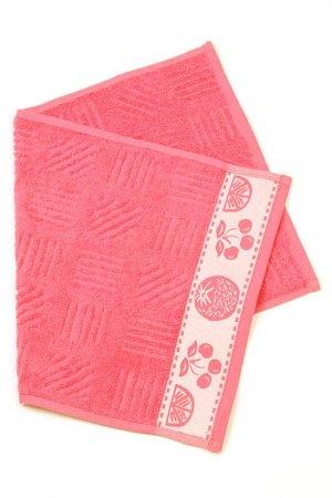 Полотенце кухонное EVA Teks. Цвет: красный
