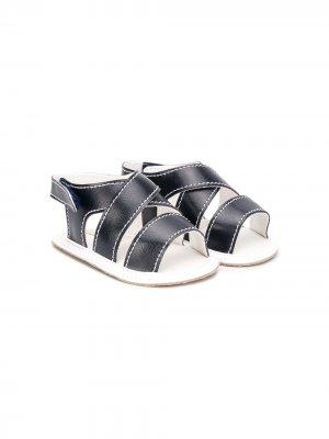 Сандалии с открытым носком Aletta. Цвет: синий