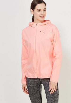 Ветровка PUMA Core-Run Hooded Jkt W. Цвет: розовый