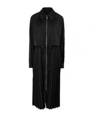 Легкое пальто KARL LAGERFELD. Цвет: черный