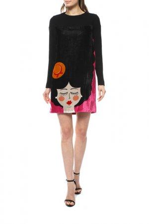 Платье GIULIA ROSITANI. Цвет: черный