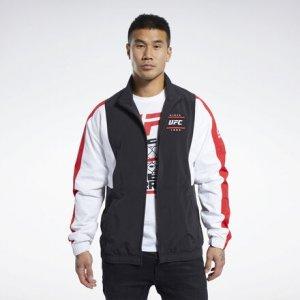Спортивная куртка UFC FG Capsule Reebok. Цвет: black
