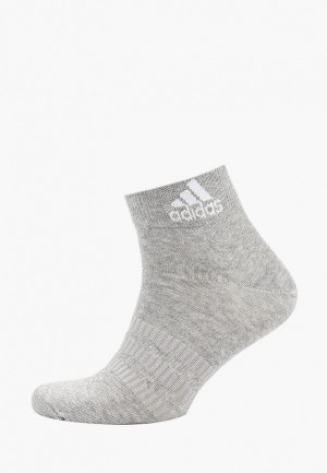 Носки adidas LIGHT ANK 1PP. Цвет: серый