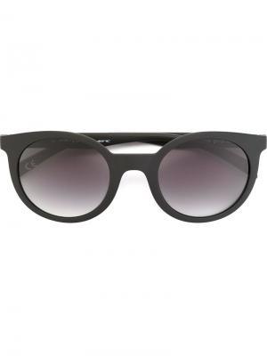 Солнцезащитные очки x Adidas Originals Italia Independent. Цвет: чёрный