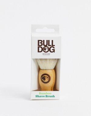 Бамбуковая кисточка для бритья Original-Бесцветный Bulldog