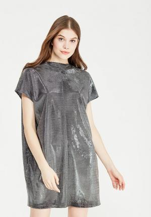 Платье Chapurin. Цвет: серебряный