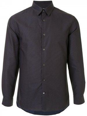 Рубашка с длинными рукавами Cerruti 1881. Цвет: синий