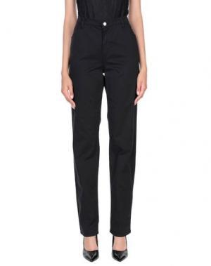 Повседневные брюки MAURICE ABOT. Цвет: черный