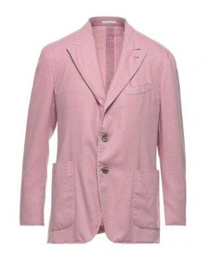 Пиджак GABRIELE PASINI. Цвет: розовый