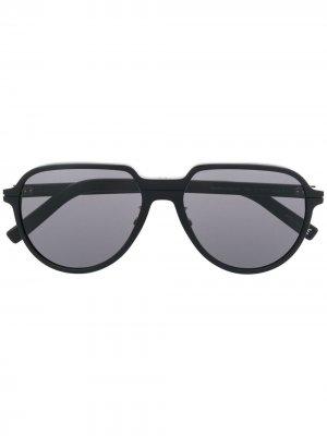 Солнцезащитные очки в массивной оправе Dior Eyewear. Цвет: черный