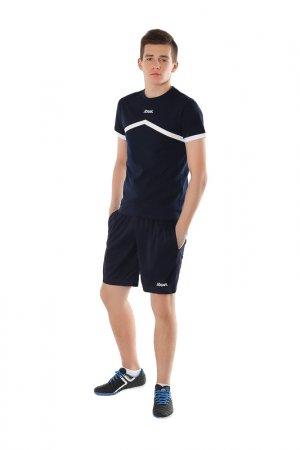 Футболка тренировочная Jogel. Цвет: темно-синий, белый