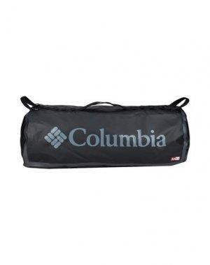 Дорожная сумка COLUMBIA. Цвет: черный