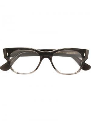 Оптические очки в прямоугольной оправе Cutler & Gross. Цвет: чёрный