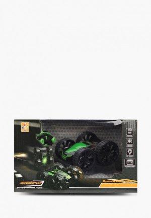 Игрушка радиоуправляемая 1Toy Драйв, трюковая машина-перевертыш на р/у. Цвет: черный