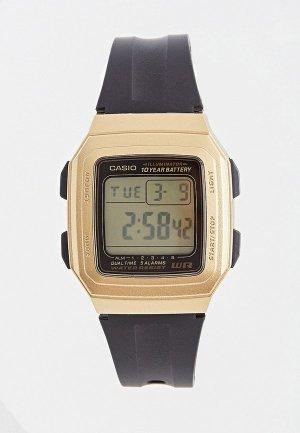 Часы Casio Collection F-201WAM-9AVEF. Цвет: черный