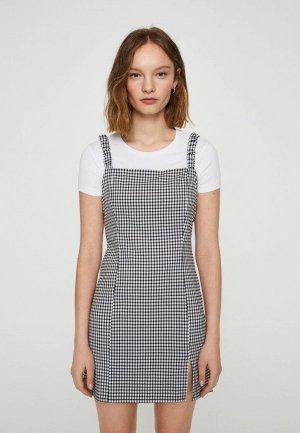 Платье Pull&Bear. Цвет: разноцветный