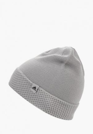 designer fashion 1f279 782cd Шапка adidas W BEANIE. Цвет  серый