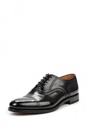 Туфли Loake LO026AMNSP30. Цвет: черный