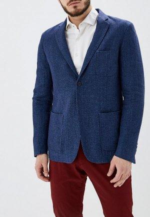 Пиджак Adolfo Dominguez. Цвет: синий