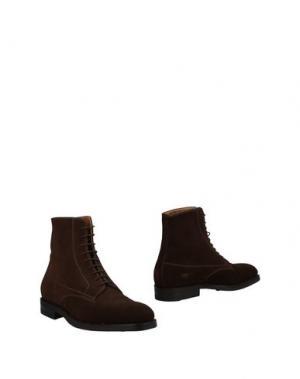 Полусапоги и высокие ботинки ARFANGO. Цвет: темно-коричневый