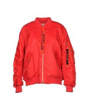 Куртка THE EDITOR. Цвет: красный