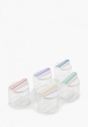 Набор для хранения специй Homsu. Цвет: прозрачный
