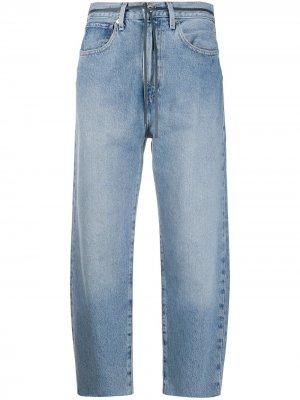 Levis: Made & Crafted укороченные джинсы с завышенной талией Levi's:. Цвет: синий