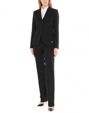 Классический костюм CARLO PIGNATELLI OUTSIDE. Цвет: черный