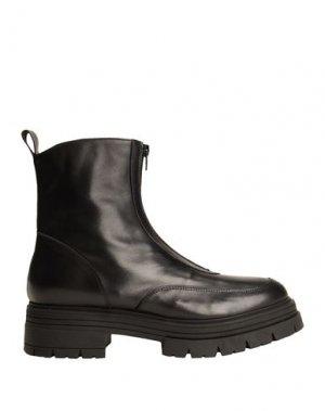 Полусапоги и высокие ботинки 8 by YOOX. Цвет: черный